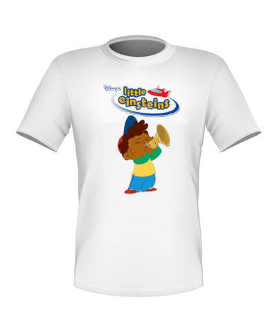 Brand New Custom Disney Little Einsteins Shirt T-shirt Quincy Great Gift