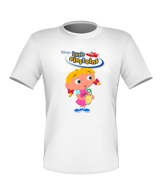 Brand New Fun Custom Disney Little Einsteins T-shirt Annie All Sizes Nice!