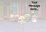 Personalized Birthday Greeting Card Super Why