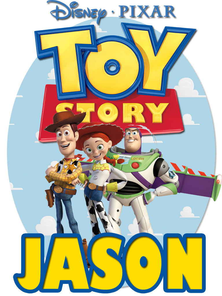 Personalized Disney Toy Story T-shirt With Name Tee Shirt NEW Great Gift!