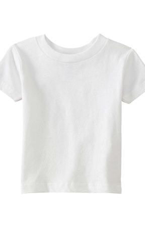 Very Soft Baby Infant Cotton Jersey T-Shirt White 100% Cotton