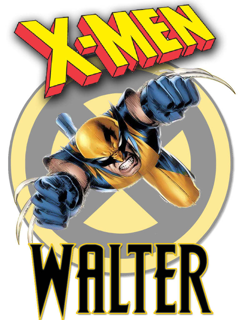 Personalized X-Men Wolverine T-shirt With Name Tee Shirt NEW Great Gift!