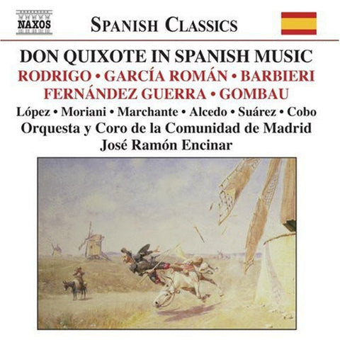 Various Artists - Don Quixote in Spanish Music /  Various -  (CD)