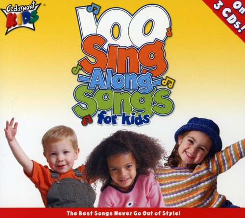 Cedarmont Kids - 100 Singalong Songs for Kids - (Boxed Set) (CD)