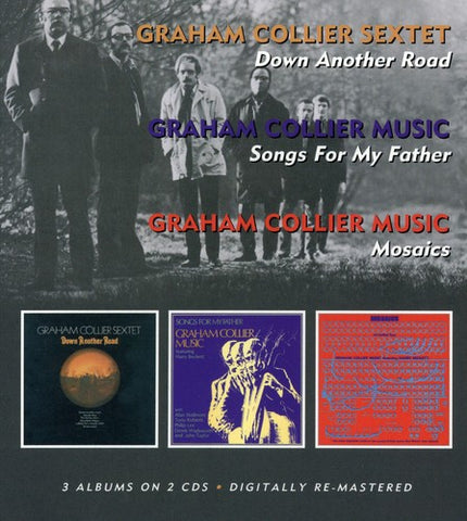 Graham Collier - Down Another Road/ Songs For My Father/ Mosaics [Import] - (United Kingdom - Import) (CD)