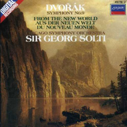 "Georg Solti - Symphony 9 "" New World "" -  (CD)"