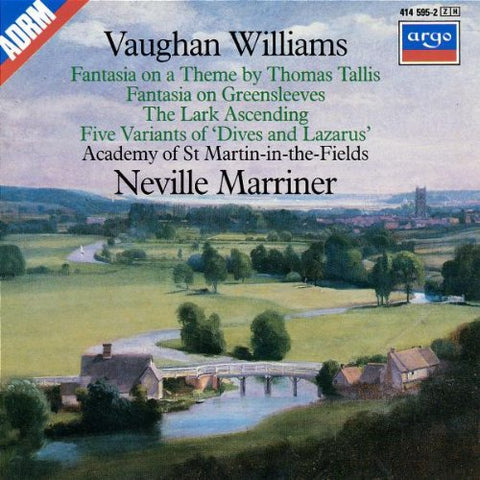Neville Marriner - Greenesleeves /  Tallis /  Lark -  (CD)