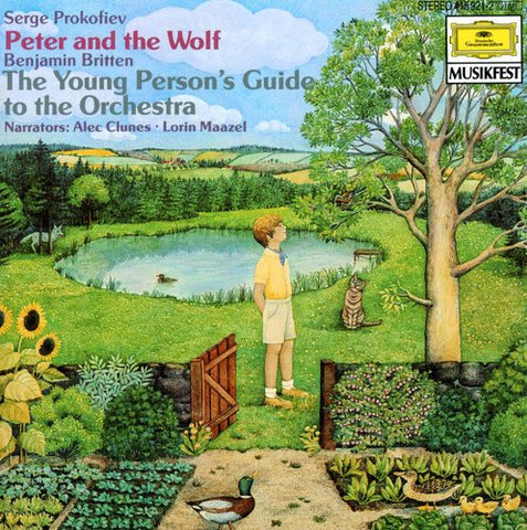 Lorin Maazel - Peter & the Wolf /  Young Person's Guide -  (CD)
