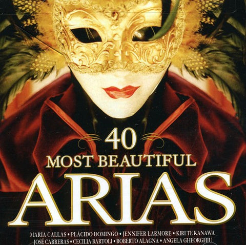 Various Artists - 40 Most Beautiful Arias /  Various -  (CD)