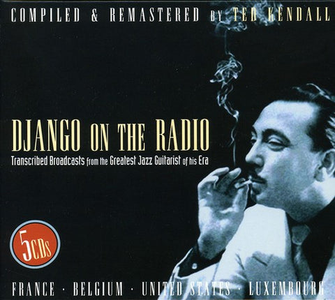 Django Reinhardt - Django on the Radio - (Boxed Set, Remastered) (CD)
