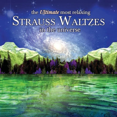 ULTIMATE MOST RELAXING STRAUSS WALTZES IN / VAR - Ultimate Most Relaxing Strauss Waltzes in /  Various -  (CD)