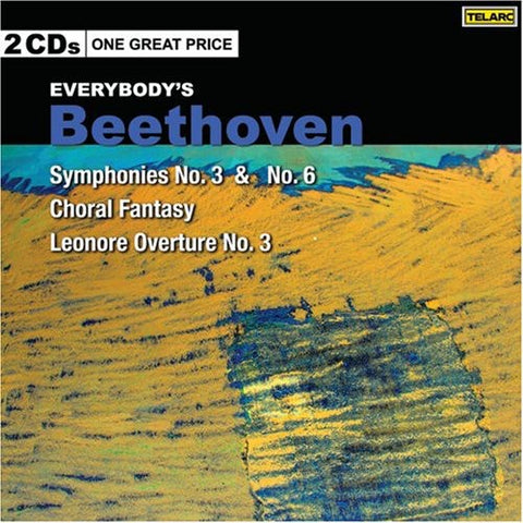 Various Artists - Beethoven: Symphonies No 3 & 6 /  Various -  (CD)
