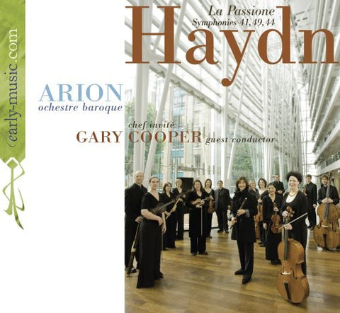 Arion - La Passione: Symphonies 41 49 & 44 -  (CD)