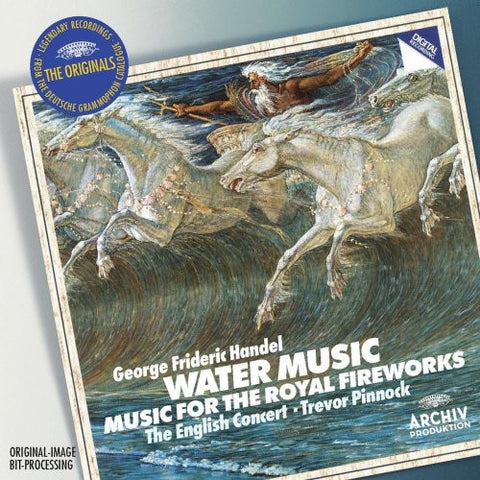 Les Lunes du Cousin Jacques - Water Music & Music for the Royal Fireworks -  (CD)