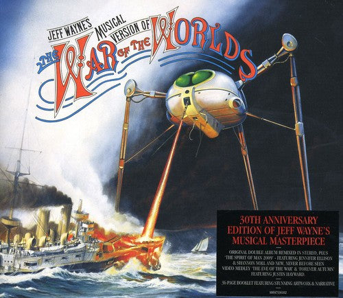 Jeff Wayne - War of the Worlds [Import] - (Holland - Import) (CD)