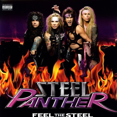 Steel Panther - Feel the Steel [Explicit Content] -  (Vinyl)