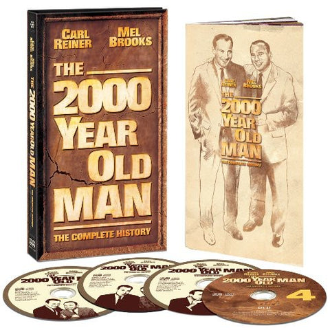 Mel Brooks - The 2000 Year Old Man: The Complete History - (Boxed Set, With DVD, Remastered) (CD)