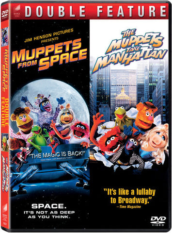 Muppets From Space /  Muppets Take Manhattan -  (DVD)
