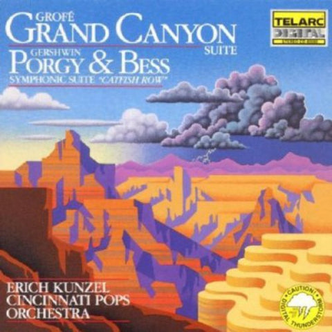 Erich Kunzel - Grand Canyon Suite /  Catfish Row -  (CD)