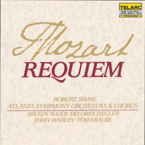 Robert Shaw - Requiem, K.626 -  (CD)