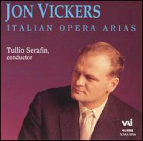 Jon Vickers - Italian Opera Arias -  (CD)