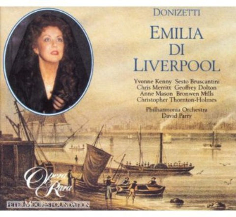 G. Donizetti - Emillia Di Liverpool -  (CD)