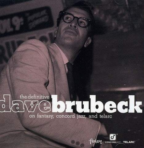 Leonard Bernstein - The Definitive Dave Brubeck On Fantasy Concord Jazz and Telarc -  (CD)