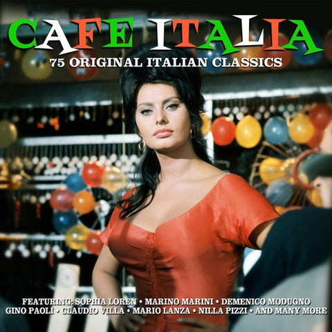 Various Artists - Cafe Italia /  Various [Import] - (United Kingdom - Import) (CD)