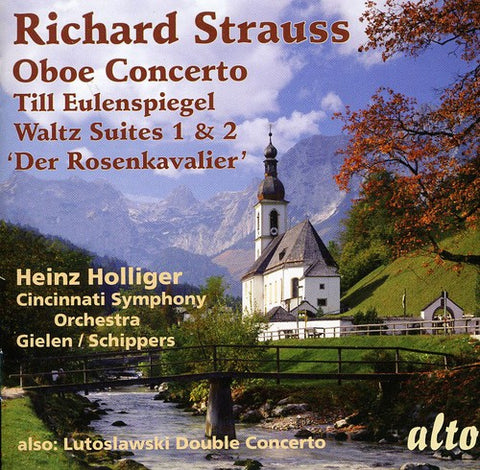 R. Strauss - Double Concerto for Oboe & Harp -  (CD)