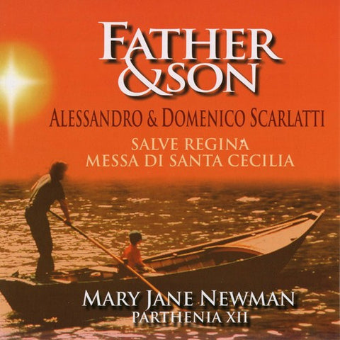 Mary Jane Newman - Scarlatti: Father & Son -  (CD)