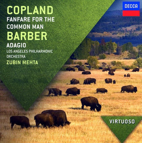 Zubin Mehta - Virtuoso: Copland Fanfare for the Common Man -  (CD)