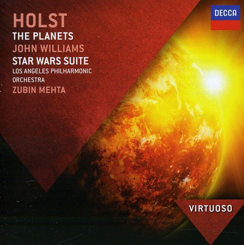 Zubin Mehta - Virtuoso: Holst the Planets /  Williams -  (CD)