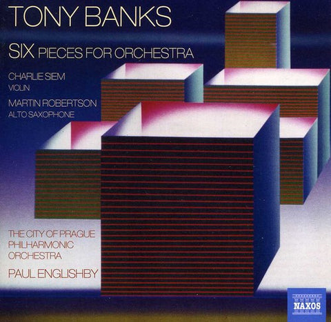 Tony Banks - Six Pieces for Orchestra -  (CD)