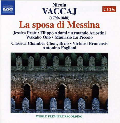 Antonino Fogliani - Sposa Di Messina -  (CD)