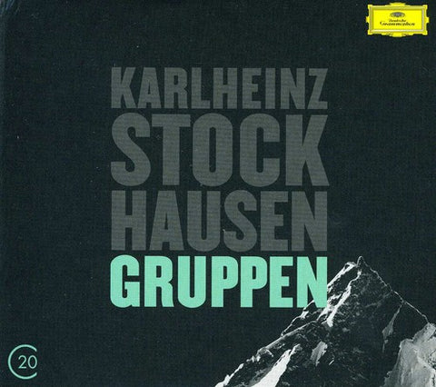 K. Stockhausen - 20C: Stockhausen /  Gruppen -  (CD)