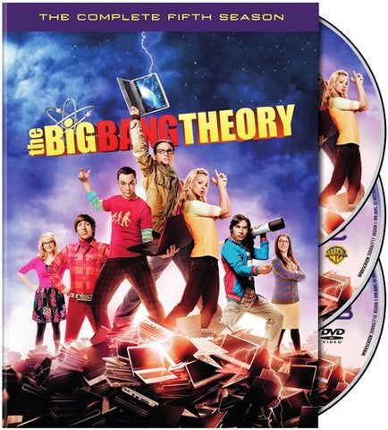 The Big Bang Theory: The Complete Fifth Season - (Subtitled, Dolby, AC-3) (DVD)