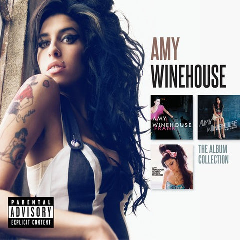 Amy Winehouse - The Album Collection [Explicit Content] - (Paexp) (CD)
