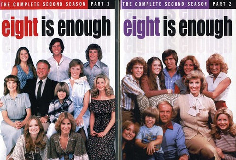 Eight Is Enough: The Complete Second Season - (Manufactured on Demand) (DVD)