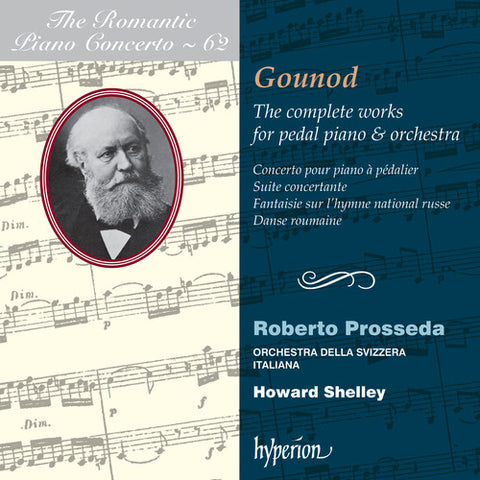 Roberto Prosseda - Romantic Piano Concerto 62 -  (CD)