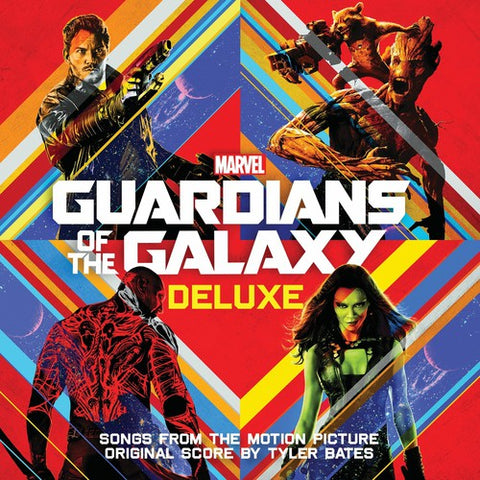 Tyler Bates - Guardians of the Galaxy (Original Soundtrack) - (Deluxe Edition) (CD)