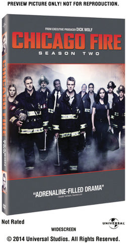 Chicago Fire: Season Two - (Boxed Set, Snap Case, Slipsleeve Packaging) (DVD)