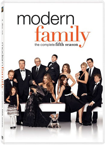 Modern Family: The Complete Fifth Season - (Widescreen, Dolby, AC-3, 3 Pack) (DVD)