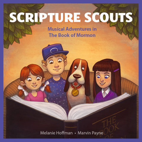 HOFFMAN,MELANIE / PAYNE,MARVIN - Scripture Scouts: Musical Adventures in the Book -  (CD)