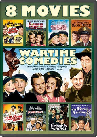 Wartime Comedies: 8 Movie Collection - (2 Pack, Snap Case) (DVD)