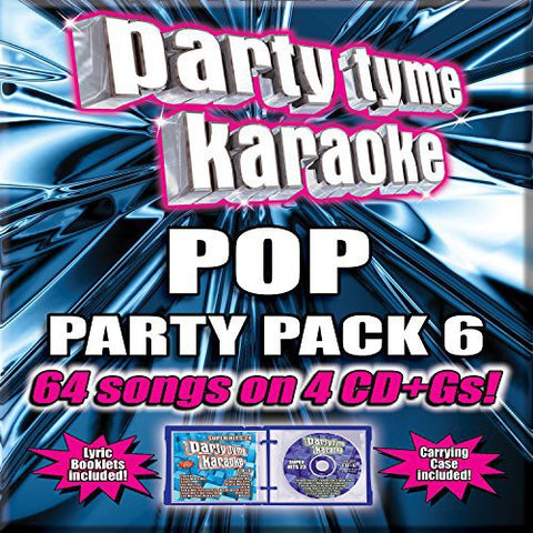 Various Artists - Party Tyme Karaoke: Pop Party Pack 6 -  (CD)