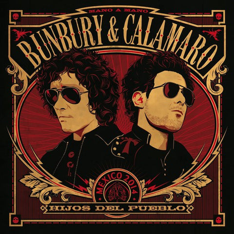 Bunbury & Calamaro - Hijos Del Pueblo [Import] - (Bonus CD, Spain - Import) (Vinyl)