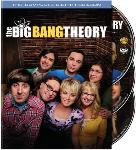 The Big Bang Theory: The Complete Eighth Season - (3 Pack, Subtitled, Slipsleeve Packaging) (DVD)