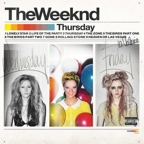 The Weeknd - Thursday [Explicit Content] -  (Vinyl)