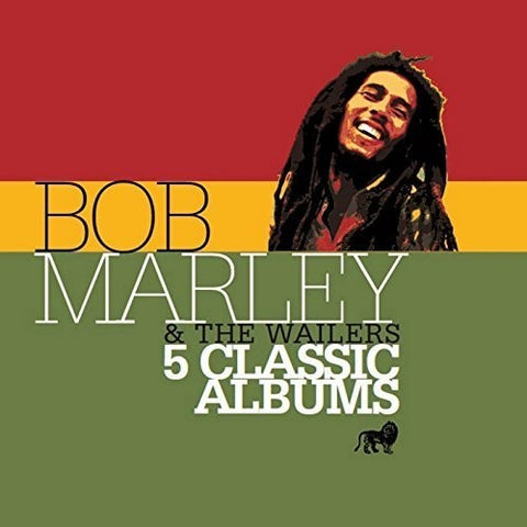 Bob Marley & Wailers - 5 Classic Albums [Import] - (Holland - Import) (CD)
