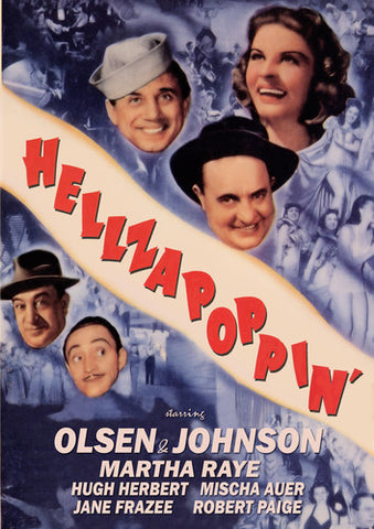 Hellzapoppin' - (Manufactured on Demand) (DVD)